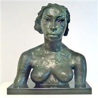 first portrait of lydia by sir jacob epstein