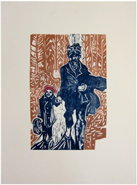 walking in gods buti ((exclusive to lilford gallery) by billy childish
