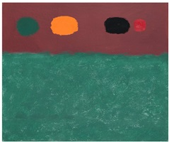 maroon band by adolph gottlieb
