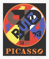 picasso by robert indiana