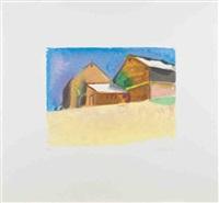 southampton barn by wolf kahn