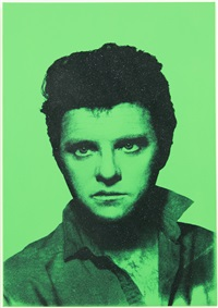 diamond elvis green by gavin turk