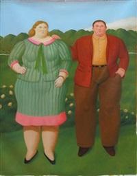 la pareja by fernando botero