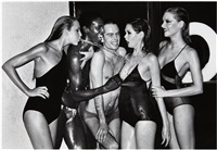 untitled by helmut newton