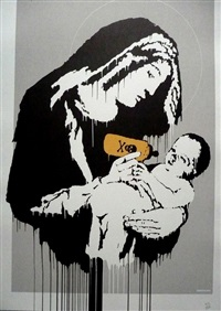 toxic mary by banksy