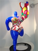 dancing nana vase by niki de saint phalle