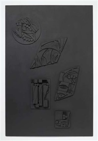 northern shores iii by louise nevelson