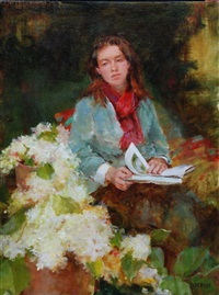 katie resting by kathy anderson