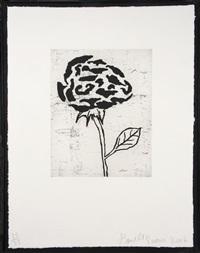 flower v by donald baechler