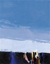 landscape study – layered sky no. 4 by donald hamilton fraser
