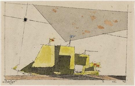 50 jahre . leben mit der kunstgalerie thomas - galerie thomas modern by lyonel feininger