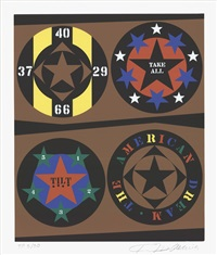 lot 168: the american dream by robert indiana