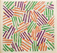 jasper johns screeprints by jasper johns