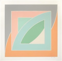 river of ponds iv by frank stella