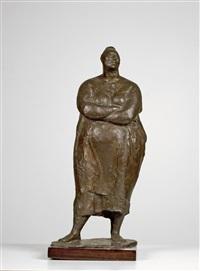 mujer de pie (standing woman) (jrfa 10092) by francisco zúñiga