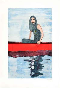 untitled plate (from 100 years ago) by peter doig