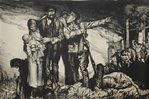 britain's call to arms by sir frank brangwyn