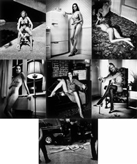 cyberwomen series by helmut newton