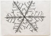snowflake drawing #1 by yutaka sone