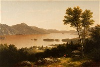 lake george, new york by john william casilear