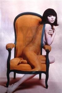 elsa martinelli par willy rizzo. peinte par charles matton - paris by willy rizzo