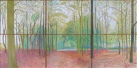 woldgate woods, 7 & 8 november 2006 by david hockney