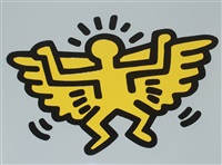 icons (c) - angel by keith haring