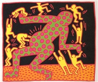 fertility #3 (c. 32) by keith haring