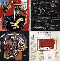 set i (complete suite), 1982/2001 by jean-michel basquiat