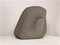 granite carving (large version) by naum gabo