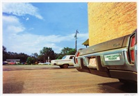 untitled ('jimmy carter…' bumper) by william eggleston