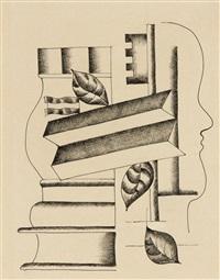 profil, vase et clef by fernand léger