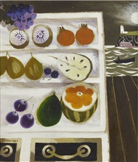 shelves of fruit by mary fedden