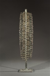 untitled (welded form) by harry bertoia