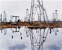 socar oil fields #3 by edward burtynsky