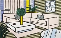 yellow vase by roy lichtenstein