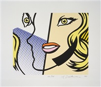 untitled head by roy lichtenstein