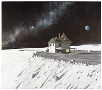 the point house at cape laplace by julio larraz