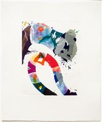 untitled (sfe 092) by sam francis