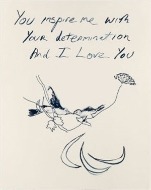 birds 2012 london olympic print by tracey emin