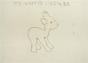 its what id like to be by tracey emin