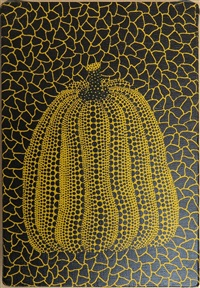 untitled (yellow pumpkin) by yayoi kusama
