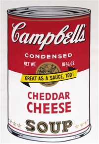 cheddar cheese soup by andy warhol