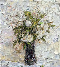pictures of magazine 2: fairy roses, after fantin latour by vik muniz