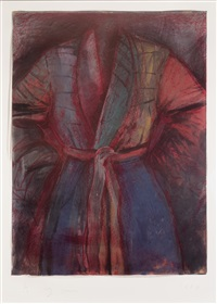 red robe in france by jim dine