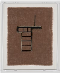 untitled (forward motion embroidery #2) by andrea zittel