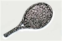 female fetish: tennis racket by claudia demonte