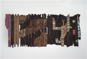 generation mix by el anatsui