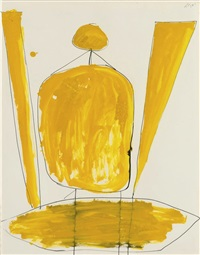 sans titre by robert motherwell
