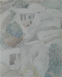 cagnes-sur-mer by paul nash